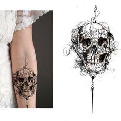 Hip - Dark - Sketch Tattoo Design Needed! Diseño de stacas