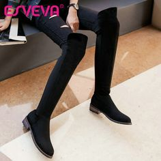=>quality productESVEVA 2016 Western Style Over The Knee Boots Round Toe Scrub Square Low Heel Winter Shoes Women Fashion Long Boots Size 34-43ESVEVA 2016 Western Style Over The Knee Boots Round Toe Scrub Square Low Heel Winter Shoes Women Fashion Long Boots Size 34-43Coupon Code Offer Save up More!...Cleck Hot Deals >>>  http://id078532914.cloudns.pointto.us/32717555350.html
