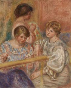 Pierre-Auguste Renoir - Embroiderers (Les Brodeuses)