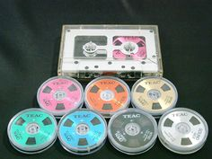 TEAC cassette tapes O casse One(1) cartridge RH-1 + Seven(7)-color reels SPECIAL