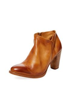 Alberta Leather Ankle Bootie from Fall's Best Booties on Gilt