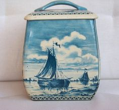 Vintage Dutch Tin from This Olde Stuff Etsy Shop