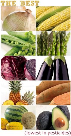 a guide to buying organic food: these have the lowest amounts of pesticides