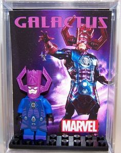 *NEW* Marvel LEGO Custom GALACTUS DISPLAY Fantastic Four Villain Hero Minifigure #LEGO