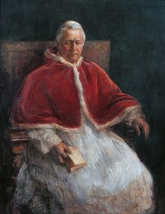 Pius X, by Alessandro Milesi, 1905, 20th Century, oil on canvas