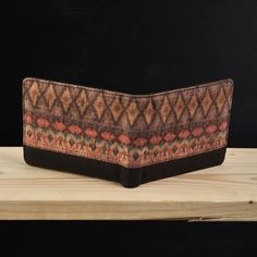 Pinnata Batik Purple - Schors #dompet #wallet #kayu