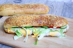 Homemade Subway Baguettes 2.0 ♡