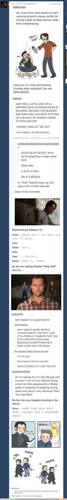 Supernatural / iFunny :)