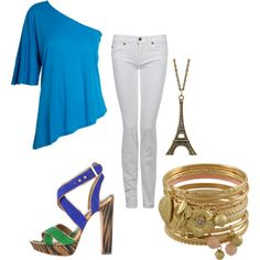 Paris, created by fuentes3 on Polyvore
