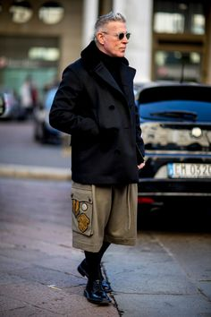 The 87 Best Street Style Looks From Men's Fashion Week: London, Milan and Pitti Uomo   Fashionista