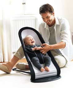 e91f770d11c Baby Bjorn Babysitter - Beckett loves this bouncy chair. It was a lifesaver  in the