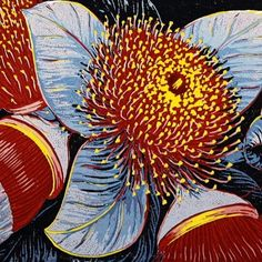 Anna Curtis | PG Printmaker Gallery - linocut