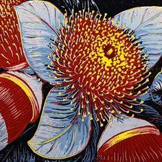 Anna Curtis   PG Printmaker Gallery - linocut