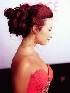 Cute Red Hairstyle - Homecoming Hairstyles 2014