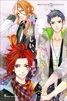 Brothers Conflict - Asahina Brothers - Hikaru, Subaru, and Yusuke