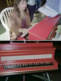 Anne Peterson provides professional harpsichord and piano lessons that include written theory work and finger exercises. She uses the Alfred series in teaching.