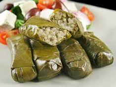 Image result for dolmades greek