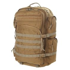 S.O.C. - Gear Packs · Long Range Bugout - Coyote Brown Tactical Backpack bba1a8f129231