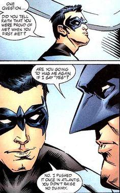 You didn't raise no dummy, Bruce.
