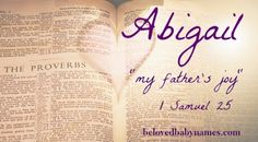 Beloved Baby Names: My favorite Biblical Girls Names