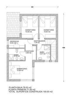 AMBAR 150m2 Entramado Ligero. Design HomesLog ...