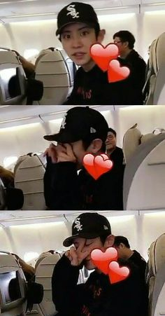 [160813] SNSD Tiffany's Snapchat of real__pcy on the way to SMTOWN Tokyo #Chanyeol