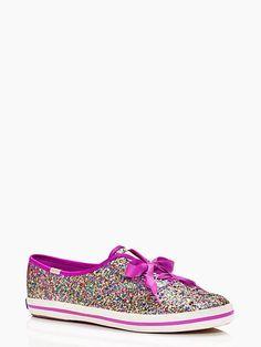 keds for kate spade new york glitter sneakers