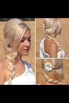 Quick and simple hair style