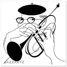 David Stone Martin jazz album cover prints by www.jazzartz.com, via Flickr. Limited editions starting at $350
