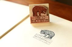 """Lay claim to your library in style! How to: Make Your Own Custom """"Ex Libris"""" Bookplate Stamp with @AdobeElements #sp"""