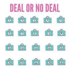 Deal or No Deal brandieyost.origamiowl.com