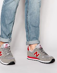 95ead4ff4 New Balance 373 Suede Trainers at asos.com