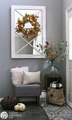 14 best fall entryway decor images fall decorating fall home rh pinterest com