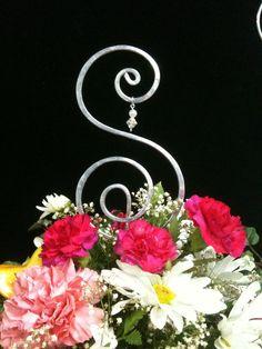 Wire Art Wedding Cake Topper