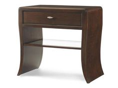 Waterfall furniture on pinterest waterfall dresser for Waterfall design nightstand