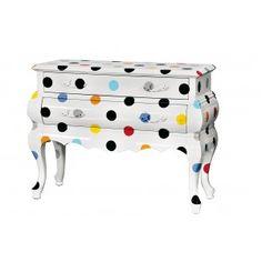 Cómo reciclar muebles con colores y patrones