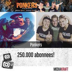 Wij hebben 250.000 abonnees! Thanks voor al jullie support, wat houden wij er toch van om jullie mooie video's te geven en jullie te vermaken!❤ Jesper, Noah, Marthijn en het hele team achter de schermen! // instagram @wijzijnponkers