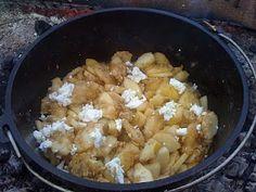 Derek on Cast Iron - Cast Iron Recipes: Recipe: Camp Dutch Oven Apple Crisp (Gluten Free) Dutch Oven Recipes, Gf Recipes, Cooking Recipes, Skillet Recipes, Free Recipes, Skillet Food, Campfire Desserts, Campfire Food, Recipes