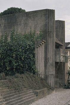 CARLO SCARPA, Brion Cemetary (1969-78), San Vito d'Altivole, Italy.