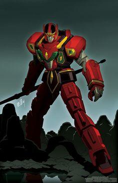 Red Dragon Thunderzord by theCHAMBA on deviantART