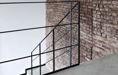 Image result for black banister stairwell commercial building Black Banister, Banisters, Steel Balustrade, Utility Pole, Stairs, Contemporary, Building, Home Decor, Google Search