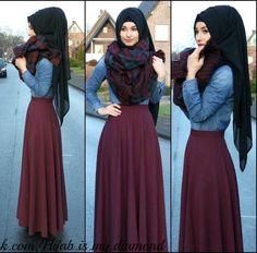 muslim fashion, thanx