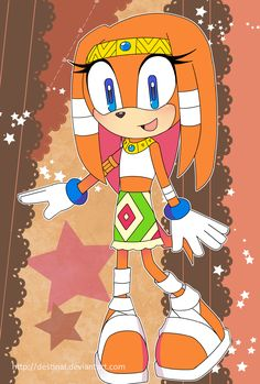Sonic Postcard - Tikal by Crystal-Ribbon on DeviantArt Game Sonic, Sonic Heroes, Sonic Franchise, Sonic Fan Art, Echidna, Tikal, Kendo, Video Game Characters, Comic Character