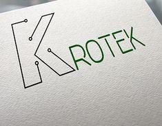 """Check out new work on my @Behance portfolio: """"logo design """"Krotek"""" Electric Installation work 2018"""" http://be.net/gallery/63499217/logo-design-Krotek-Electric-Installation-work-2018"""