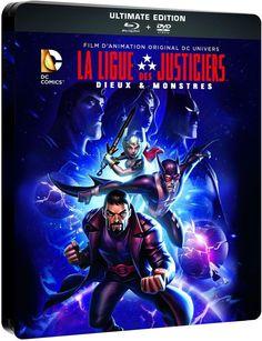 Actus Blu-Ray, DVD et VOD du 23 août 2015 - La Ligue Des Justiciers : Dieux & Monstres