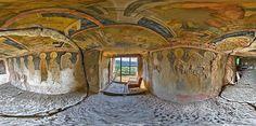 Iglesias rupestres de Ivanovo Provincia de Ruse Bulgaria.