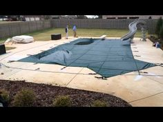 Check out Valley Pools Installing a Tara Safety Cover! Stay protected this year with a Tara Safety Cover.  http://youtu.be/QZ9hlVhHpcE