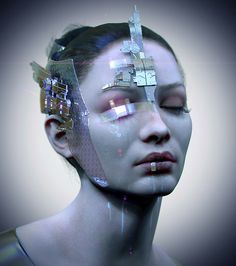 design tech concept art technology sci-fi science fiction the future Futuristic