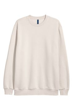 Relaxed-fit Sweatshirt - Beige - | H&M US 2