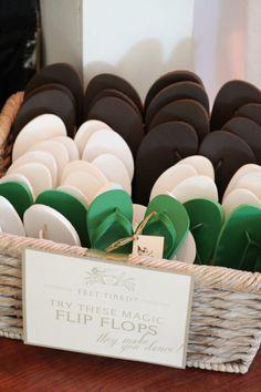 Magic Flip Flops - Kiawah Island Wedding from Charlotte Elizabeth Photographer